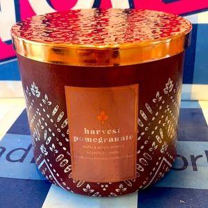 B&BW Harvest Pomegranate Candle